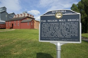 A 19th-century flour mill with all original equipment intact is on display at the Neligh Mills State Historic Site.